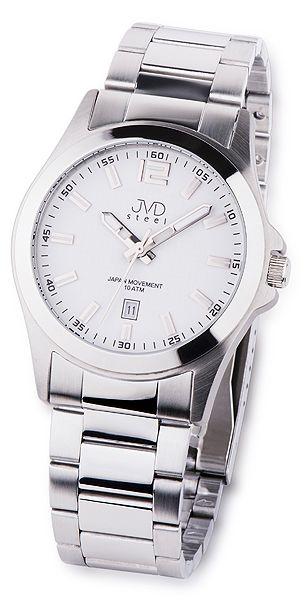 eb564b093f9 Vodotěsné moderní náramkové hodinky JVD steel J1041.1