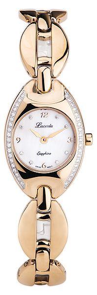 Dámské šperkové luxusní hodinky LACERTA 751K6593 - baterie na 7let!!