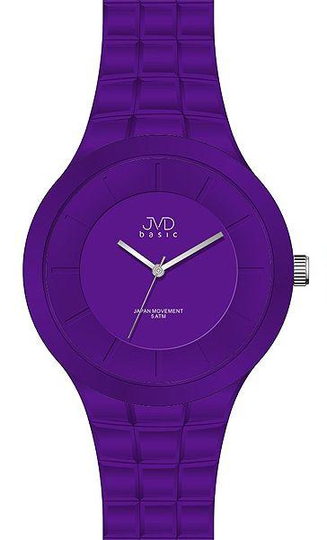 Dámské luxusní fialové hodinky JVD basic J3002.2 - 5ATM
