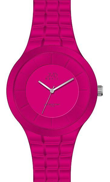 Dámské luxusní červené hodinky JVD basic J3002.3 - 5ATM