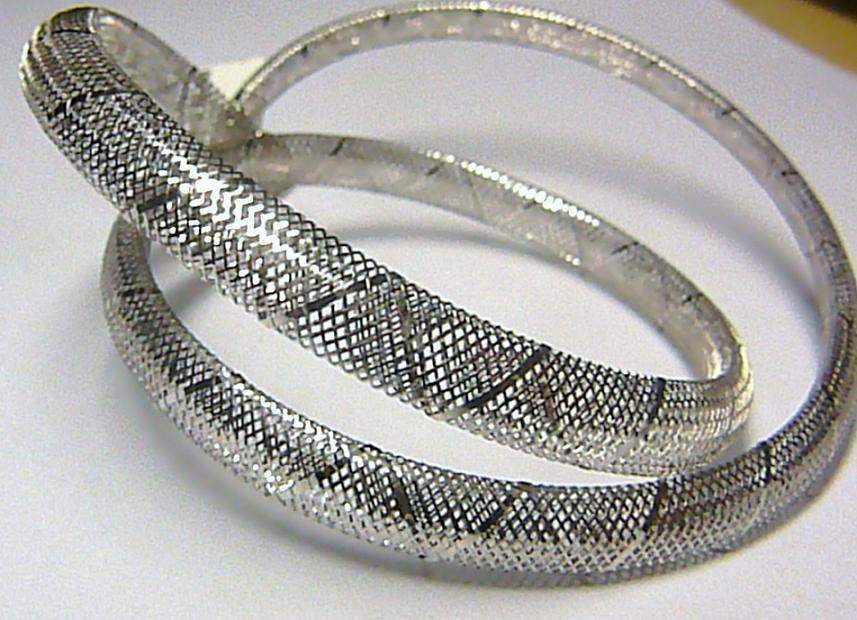 Luxusní zlatý natahovací náhrdelník z bílého zlata - HIT roku 2012!!