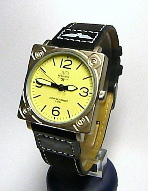 Chlapecké dětské ocelové kožené hodinky JVD J7098.9