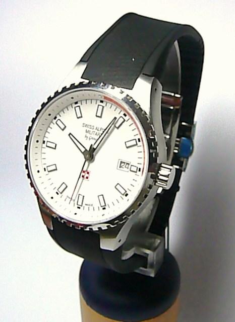 Luxusní švýcarské ocelové hodinky SWISS ALPINE MILITARY by Grovana 1600.1532 b311e68f39