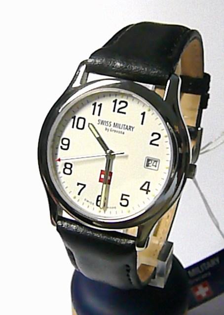 Švýcarské ocelové hodinky Swiss Military by Grovana 1207.1933