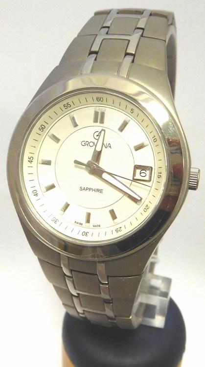 f7da0340181 Luxusní švýcarské titanové kovové hodinky Grovana 1535.1192