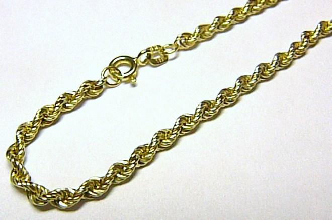 Mohutný luxusní velký zlatý náramek (VALIS) 19cm 585/0,92gr 3640183