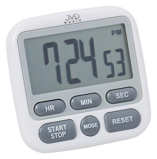 Moderní bílá DM 82.1 - Digitální minutka JVD