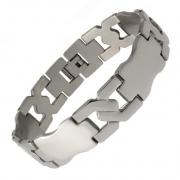 Pánský ocelový náramek z chirurgické oceli 316 L 211254