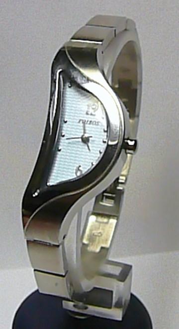 Dámské luxusní stříbrné módní hodinky Foibos 8G82 SLZA s modrým číselníkem 27c5c2a25d3