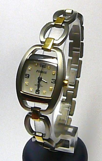 Celotitanové bicolor společenské dámské hodinky Foibos 1711.1