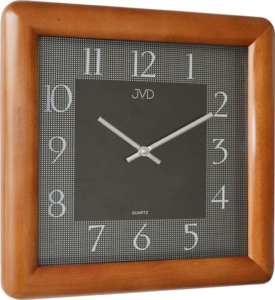 Designové moderní dřevěné nástěnné hodiny JVD N12081. 41