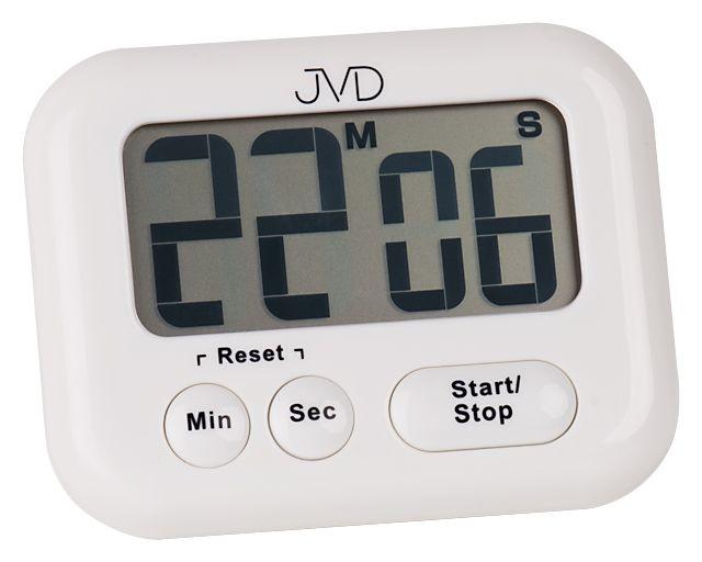 Bílá moderní digitální minutka JVD DM97