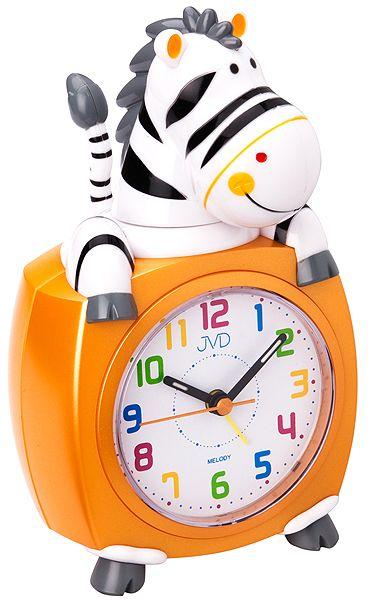 Oranžový dětský budík JVD SR932.3