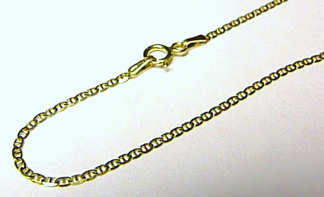 ZLatý dámský náramek ze žlutého zlata 18cm 585/0,93gr H059