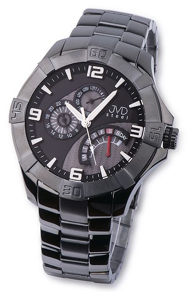 8ae779a2bb4 Nerez ocelové pánské luxusní náramkové hodinky JVD steel JA620.5 ...