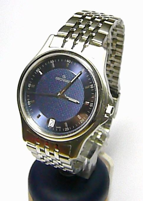 Luxusní švýcarské pánské hodinky Grovana 1507.1135 se safírovým sklem