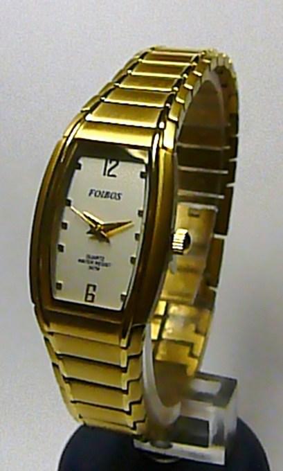 Titanové antialergické zlaté elegantní hodinky Foibos 19731 (Foibos 19731)