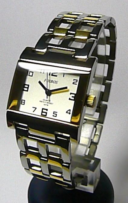 Titanové antialergické hranaté dámské hodinky Foibos 20872 (bicolor) (Foibos 20872)