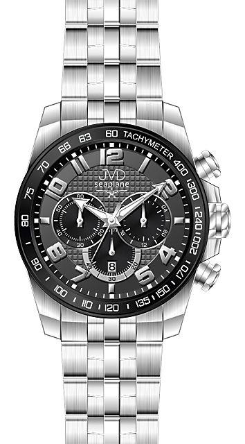 Vysoce odolné vodotěsné chronografy náramkové hodinky JVD seaplane H09.2 10ATM