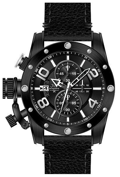 Pánský chronograf - luxusní vodotěsné hodinky JVD Seaplane W47.2 10ATM