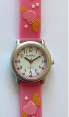 Dětské dívčí růžové hodinky Olympia 41014 3ATM