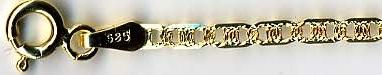 Vzor FANTASY 3 (GILETTE) - zlatý náramek, zlatý řetízek dle výběru PGPP 040