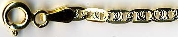 Vzor FANTASY 3 (GILETTE) - zlatý náramek, zlatý řetízek dle výběru PGPP 060