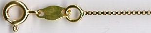 VENETIAN - zlatý řetízek - benátský (venezia) vytvoř si vlastní řetízek KVD 019