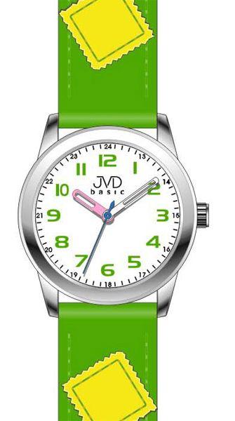 Zelené dětské náramkové hodinky JVD basic W61.2