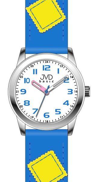 Modré dětské náramkové hodinky JVD basic W61.3