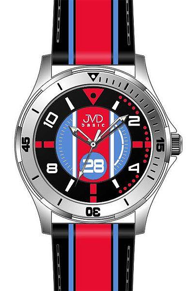 Chlapecké sportovní dětské barevné náramkové hodinky JVD basic W60.2 - 5ATM