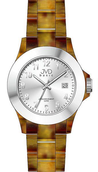 Luxusní nadčasové podzimní dámské náramkové hodinky JVD basic J6011.1
