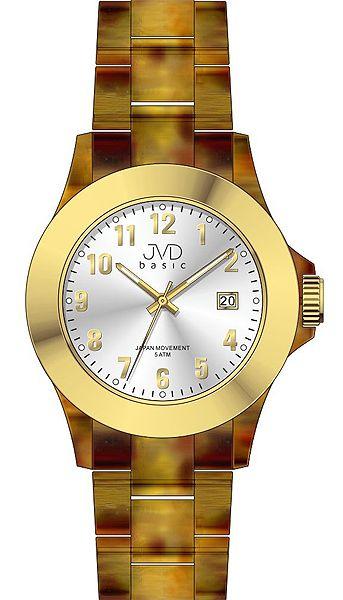 Luxusní nadčasové podzimní dámské náramkové hodinky JVD basic J6011.2