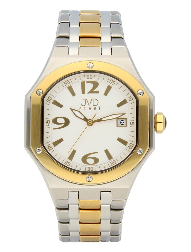 Pánský sportovní ocelový chronograf hodinky JVD steel C1128.6 - 3ATM (POŠTOVNÉ ZDARMA!!)
