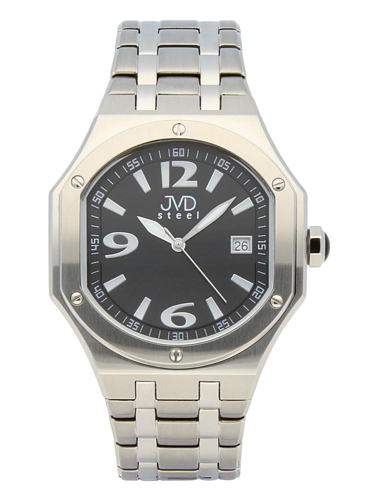 Pánský sportovní ocelový chronograf hodinky JVD steel C1128.5 - 3ATM (POŠTOVNÉ ZDARMA!!)