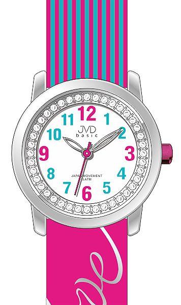 """Dětské holčičí náramkové hodinky JVD basic J7139.3 s nápisem """"LOVE"""""""