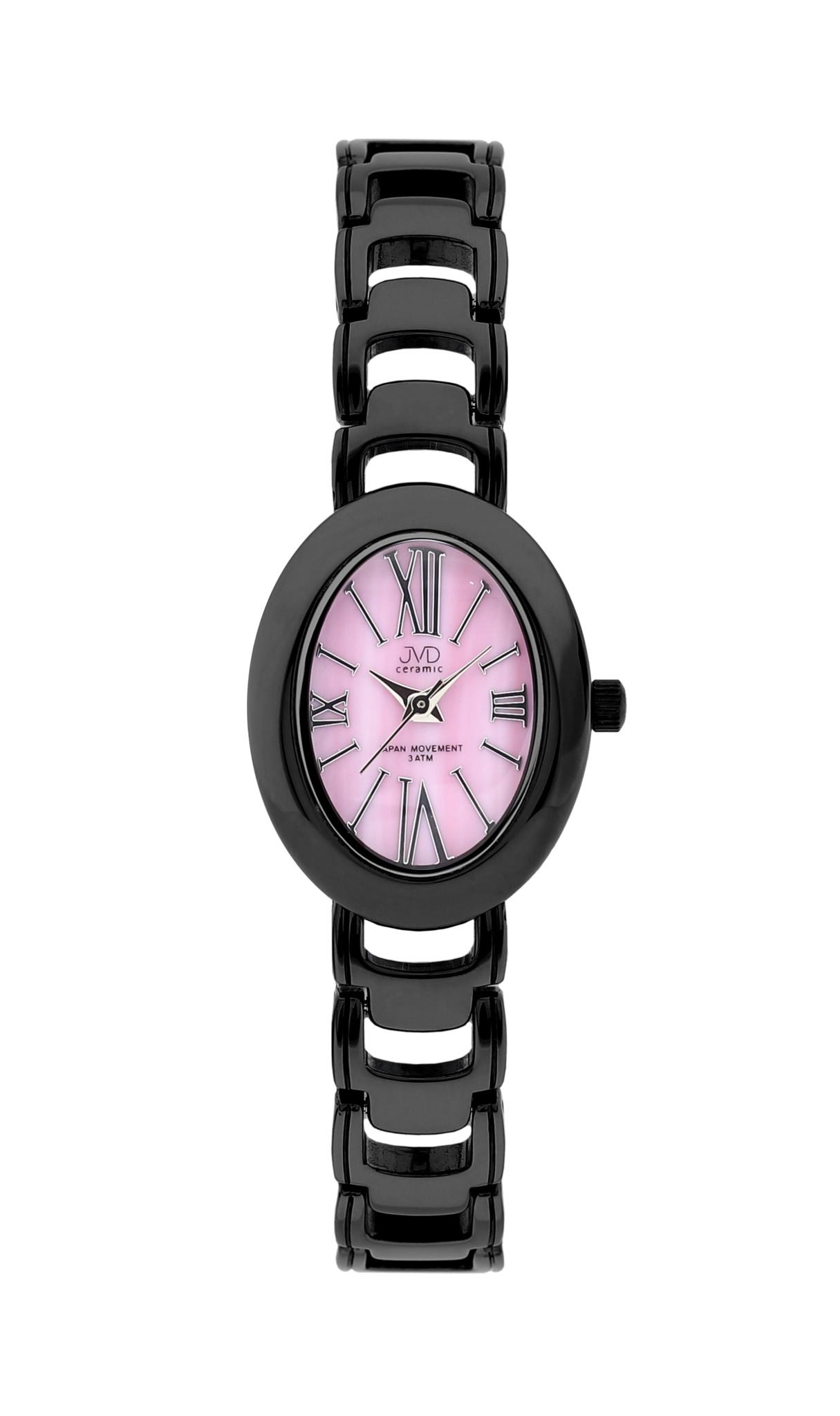Luxusní keramické dámské náramkové hodinky JVD ceramic J6010.1 (POŠTOVNÉ ZDARMA!!)