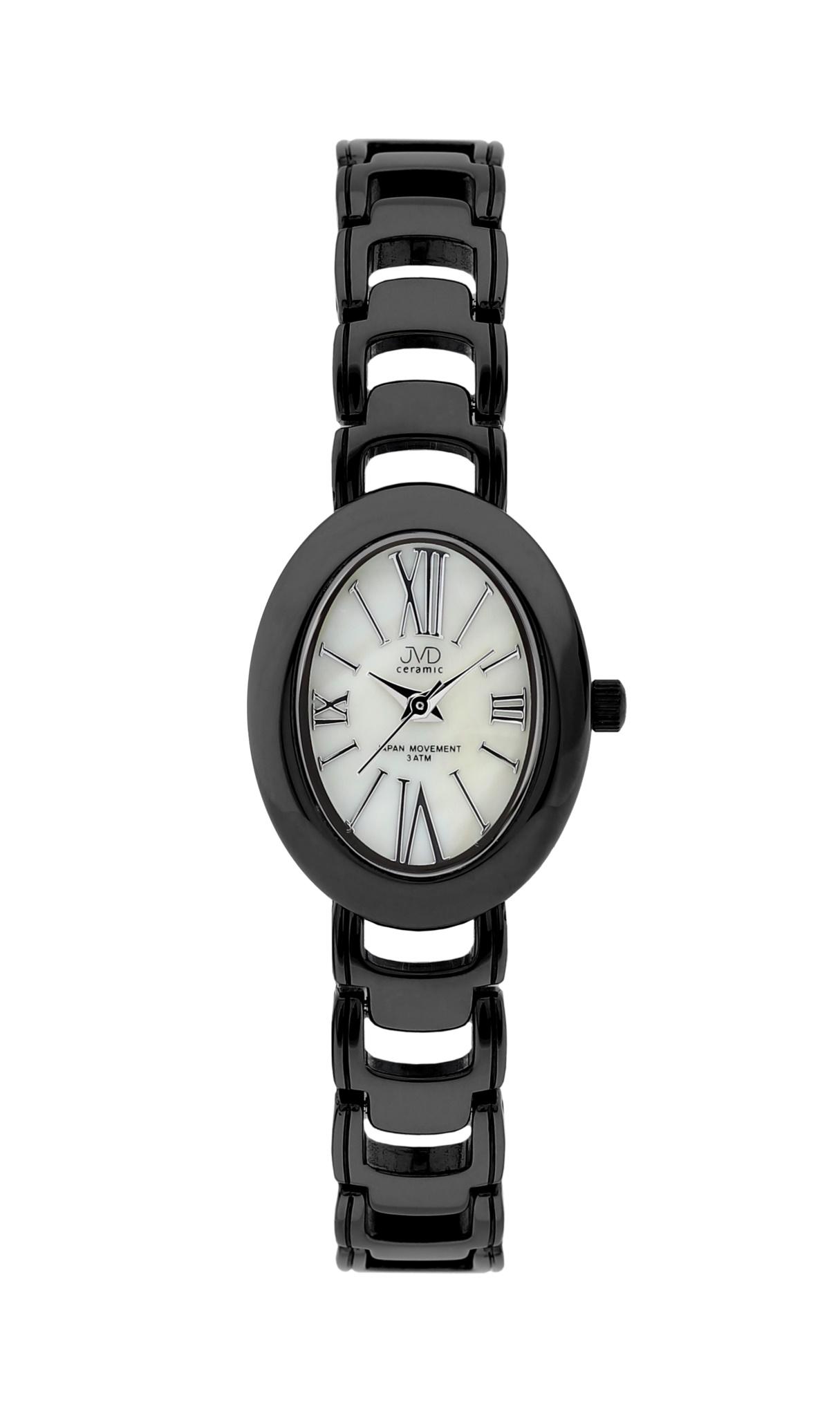 Luxusní keramické dámské náramkové hodinky JVD ceramic J6010.2 (POŠTOVNÉ ZDARMA!!)