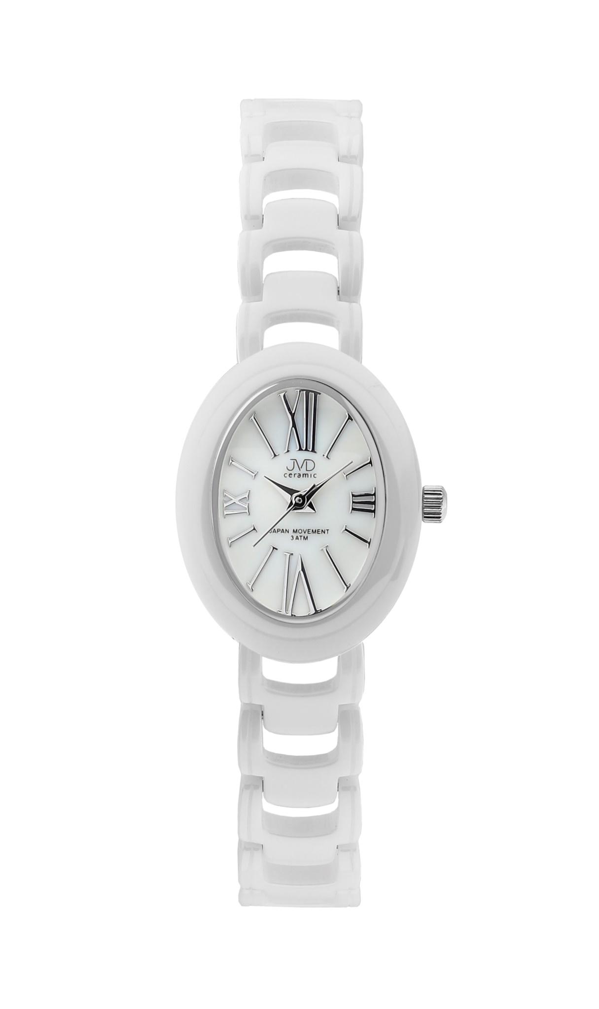 Luxusní keramické dámské náramkové hodinky JVD ceramic J6010.3 (POŠTOVNÉ ZDARMA!!)