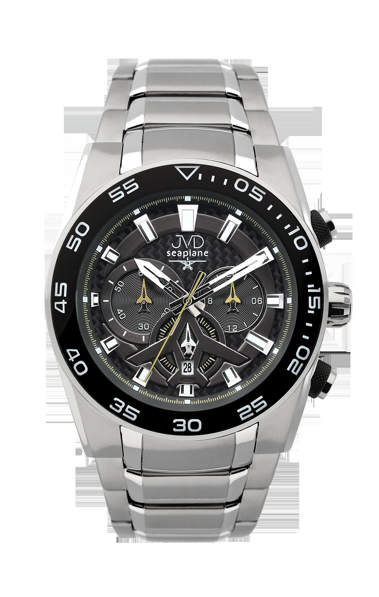 Luxusní vodotěsné sportovní hodinky JVD seaplane W49.1 chornograf se stopkami (POŠTOVNÉ ZDARMA!!)