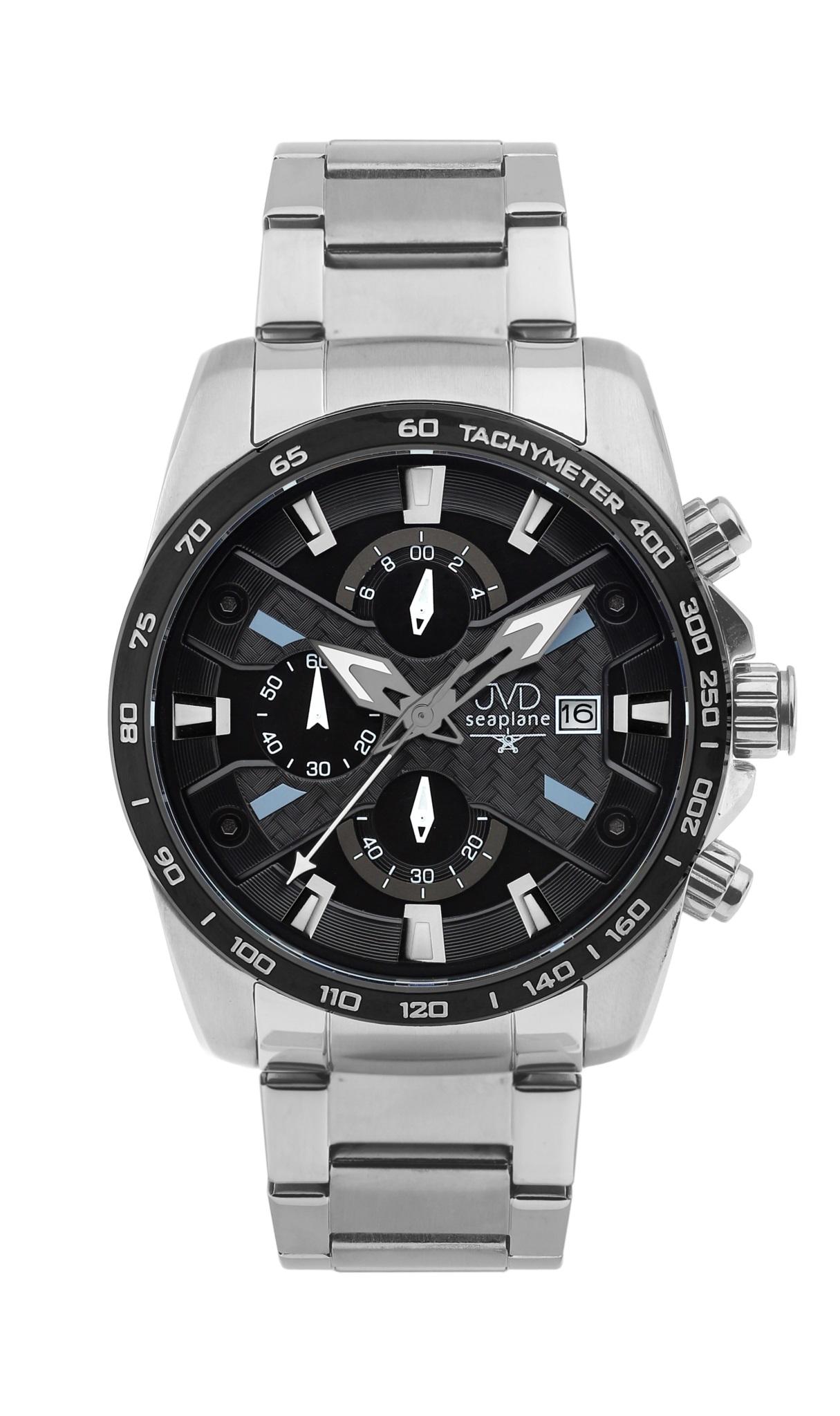 Luxusní vodotěsné sportovní hodinky JVD seaplane W51.3 chornograf se stopkami (POŠTOVNÉ ZDARMA!!!)