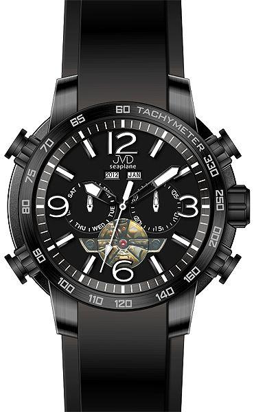 Vodotěsné chronograf hodinky JVD Seaplane W50.1 10ATM AUTOMATY (bez baterie) POŠTOVNÉ ZDARMA!