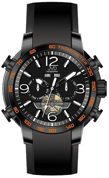 Vodotěsné chronograf hodinky JVD Seaplane W50.2 10ATM AUTOMATY (bez baterie) POŠTOVNÉ ZDARMA!