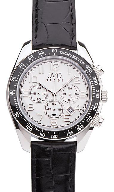 Luxusní pánské moderní hodinky JVD C1162.2 chronograf POŠTOVNÉ ZDARMA!