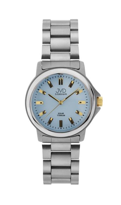 Pánské celotitanové vodotěsné hodinky JVD J2015.3 na sluneční energii BEZ BATERI POŠTOVNÉ ZDARMA! (POŠTOVNÉ ZDARMA!!)
