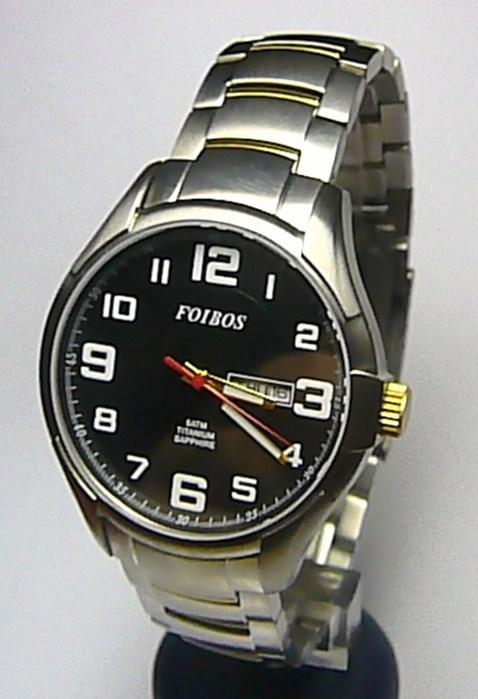 0f3d79c92a8 Titanové luxusní vodotěsné odlehčené hodinky Foibos 90713G 5ATM SAFÍROVÉ  SKLO POŠTOVNÉ ZDARMA! (POŠTOVNÉ ZDARMA