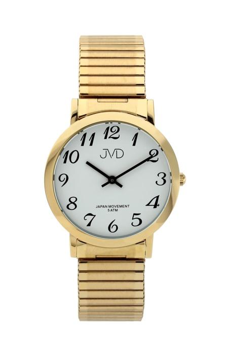 Dámské kovové zlacené hodinky JVD steel J1048.2 9e0b49eec3e