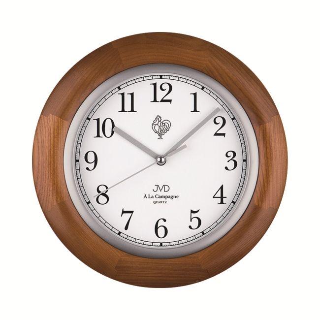 Dřevěné hodiny JVD N26065/11 francouzského vzhledu