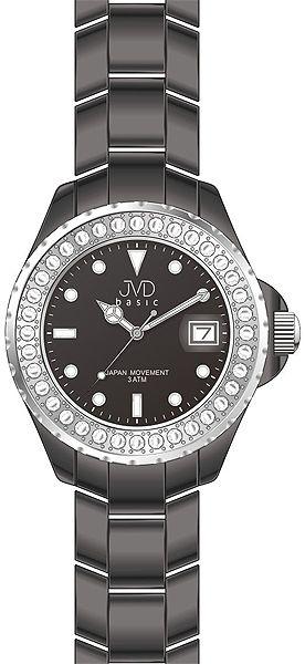 Dámské ozdobrné elegantní náramkové hodinky JVD basic J6005.1