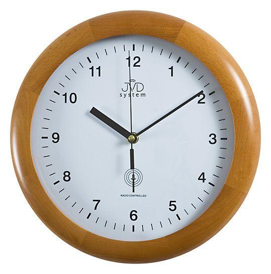 Rádiem řízené nástěnné hodiny JVD system RH2341/41 (POŠTOVNÉ ZDARMA!!!)